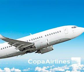 vuelos con Copa Airlines /Bogotá a Panamá
