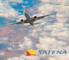 vuelos con/Satena